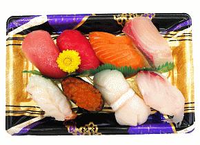 魚屋の生寿司