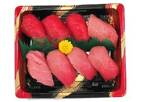 生マグロ寿司